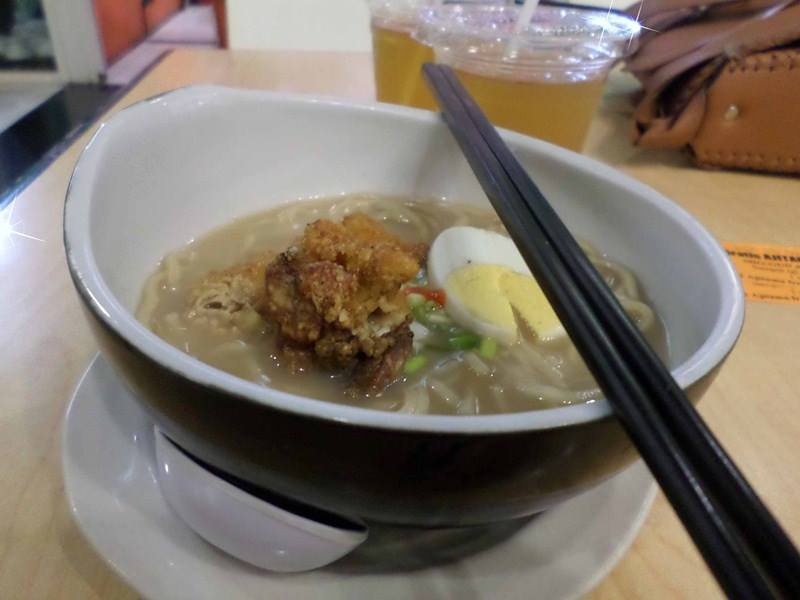 Ramen Sho-gun (small) Original dengan Topping Chicken Teriyaki