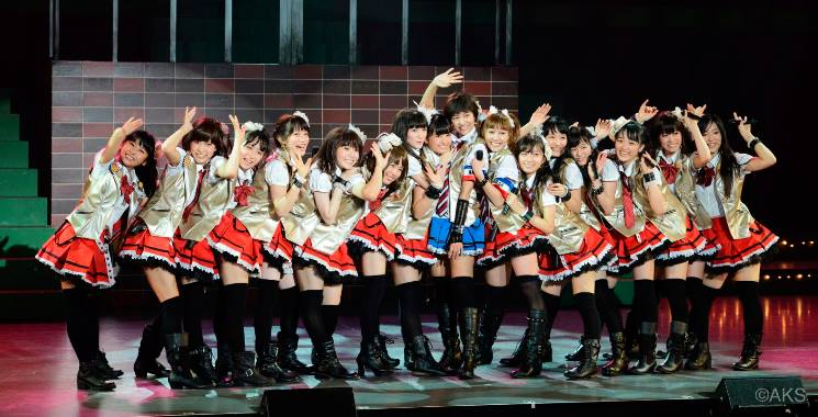 Stage capture dari drama AKB49