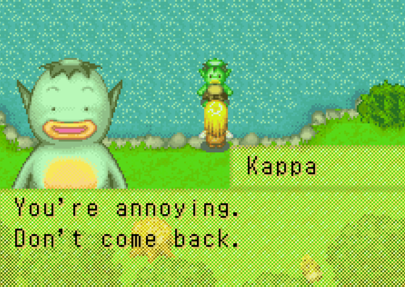 Kappa di game Harvest Moon