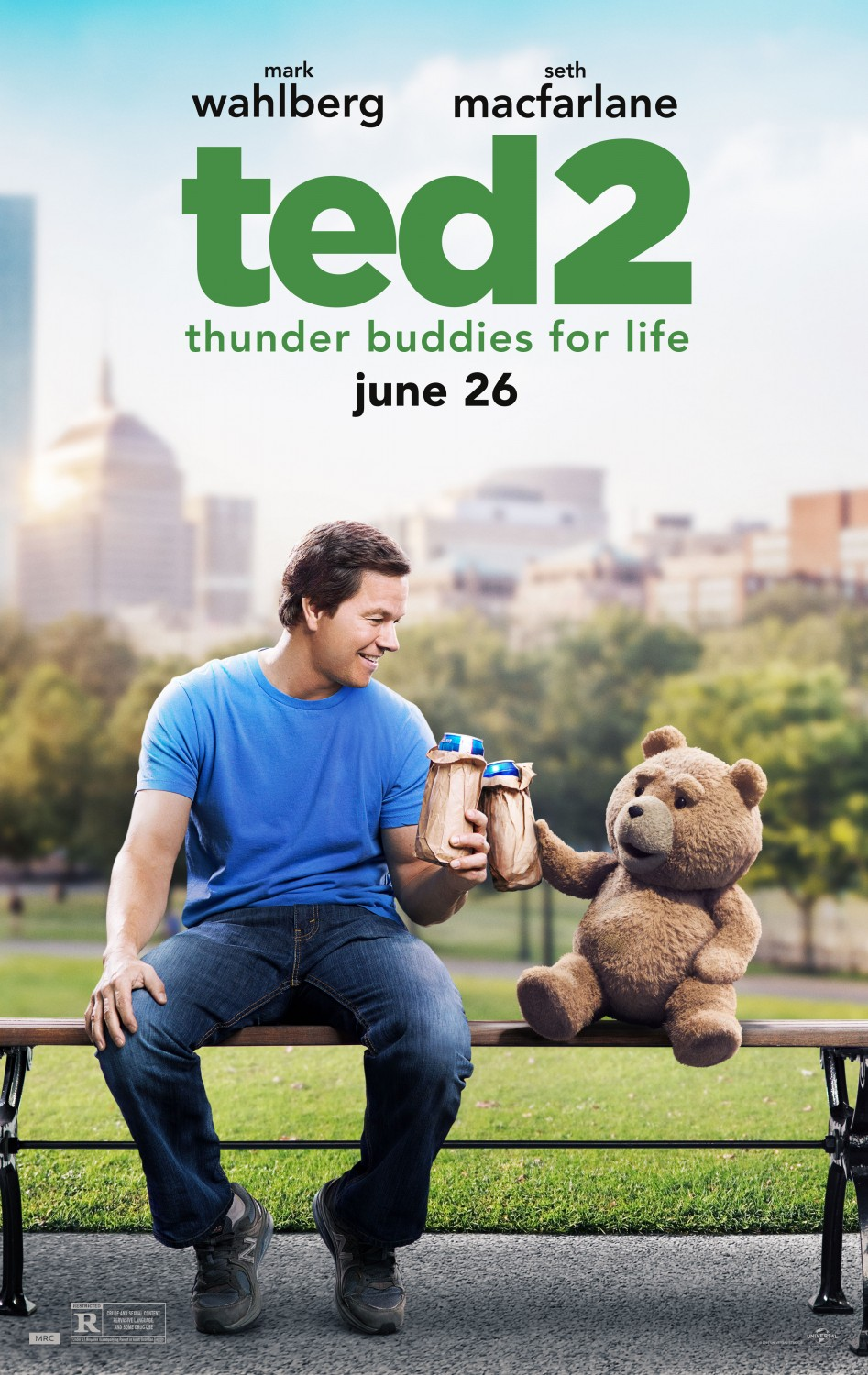 Official Movie Poster TED2