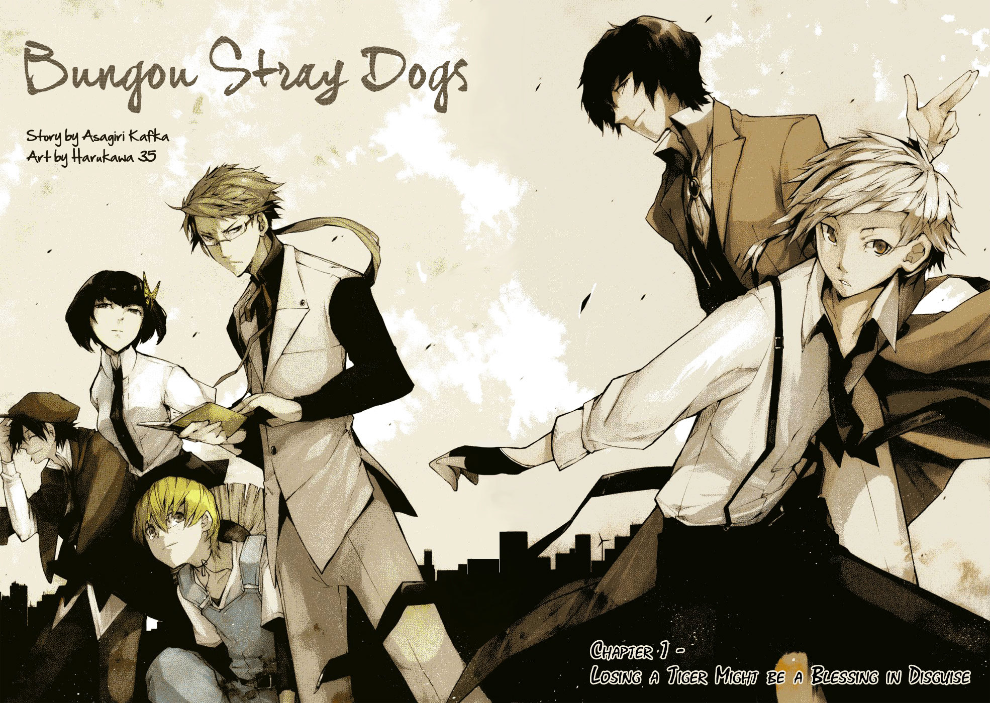Bungo Stray Dogs (1)