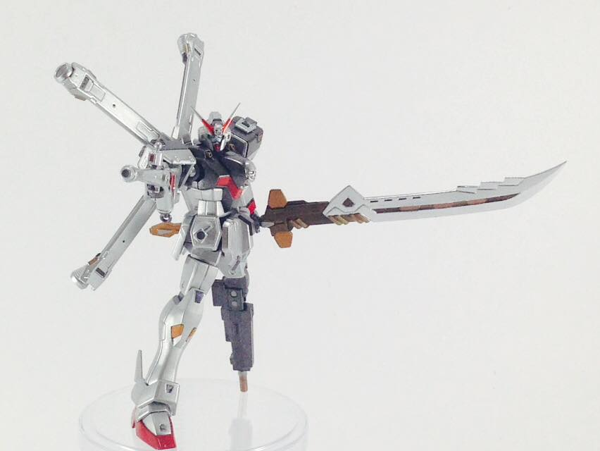 AGS Custom Build - HG 1/144 Crossbone Gundam X-0 Ghost Custom
