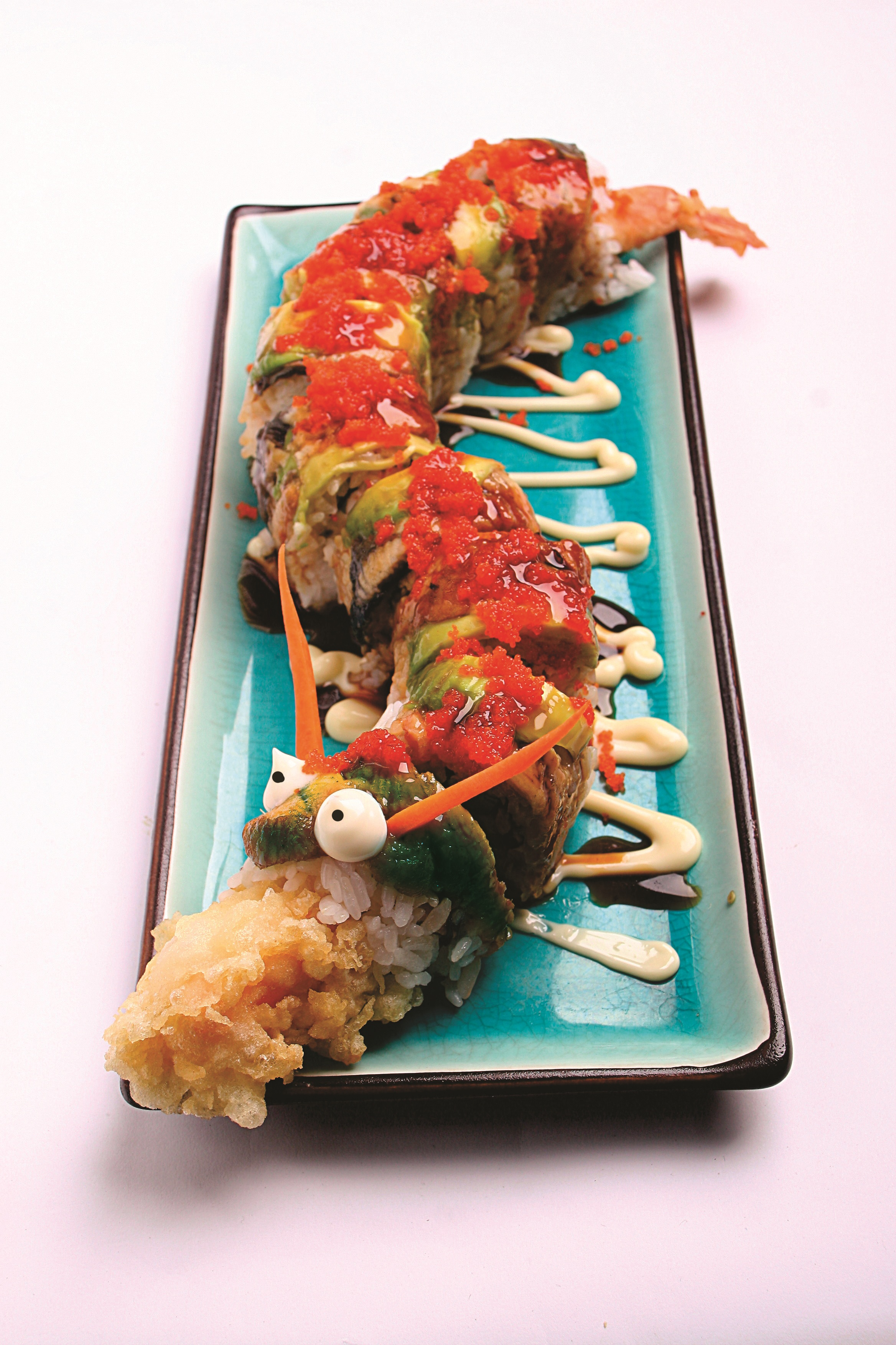 Special Dragon Roll Kombinasi