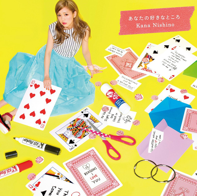 [Single] Nishino Kana - Anata no Suki na Tokoro Regular Ver