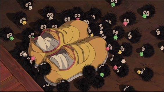 dalam anime Spirited Away