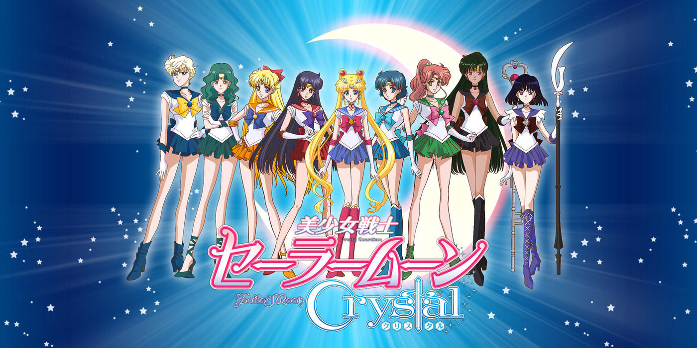 3. Sailor Moon Crystal : Death Busters arc