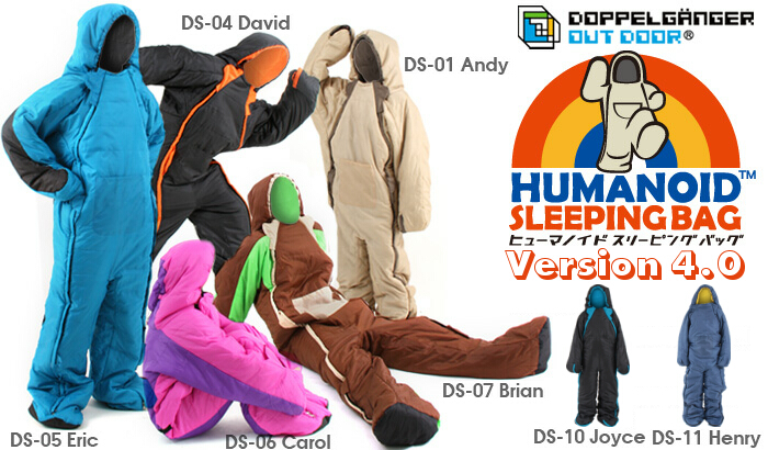 humanoid sleeping bag