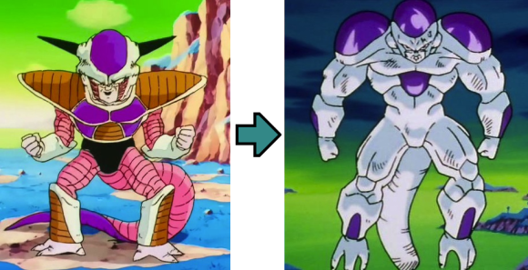 Frieza Full Power = PS 4
