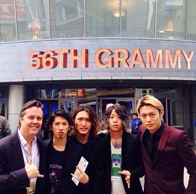 One Ok Rock in Grammy