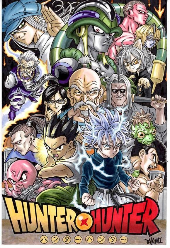 Hunter X Hunter or Dragon Ball?