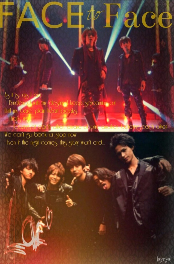 Single KAT-TUN Face to Face