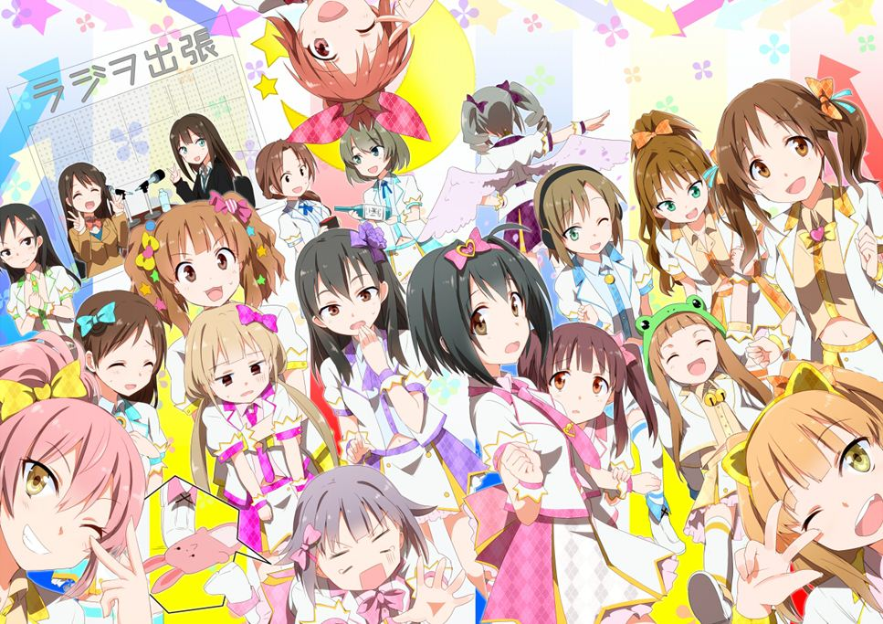 The idolm@ster cinderella girls anime