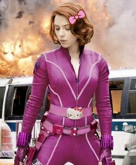 (Pink) Black Widow