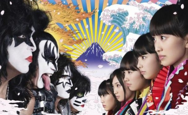 momoclo vs Kiss