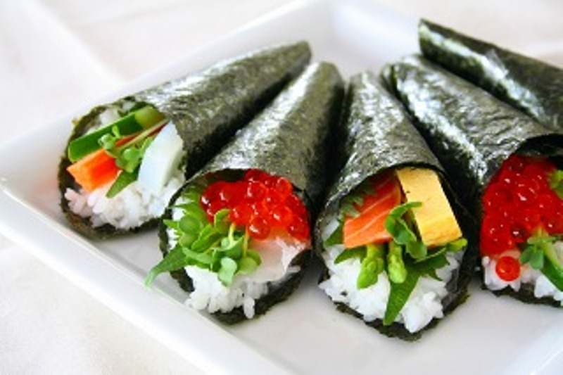 Image result for temaki sushi