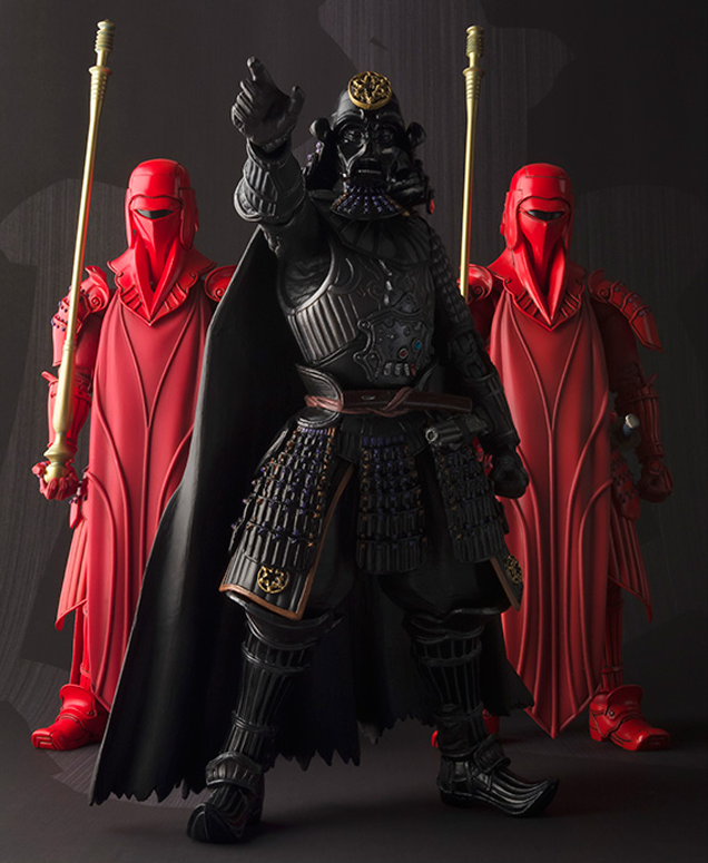 Darth Vader & Royal guards