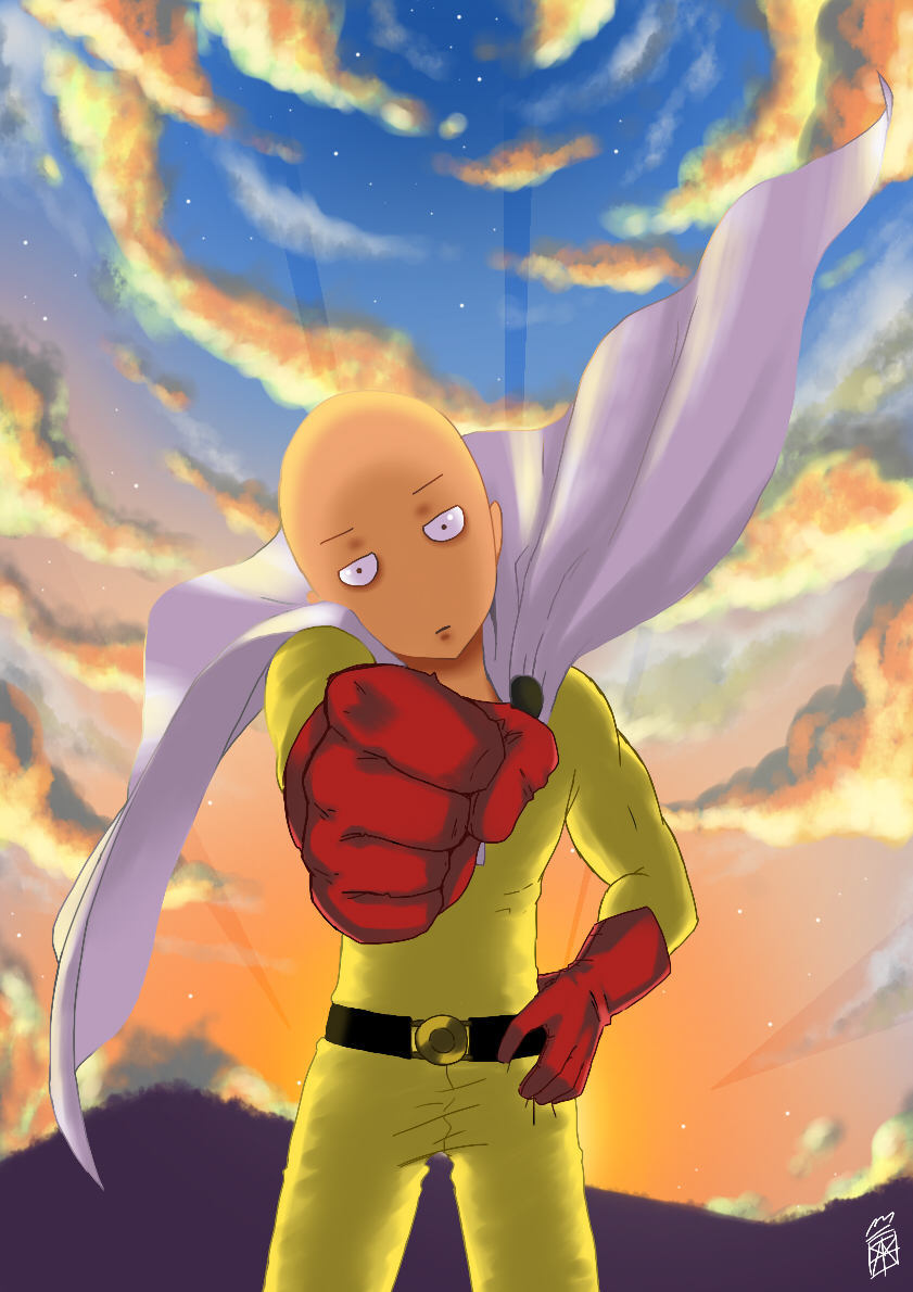one_punch_man___saitama_by_chatchaya_cjr-d9kfl8f