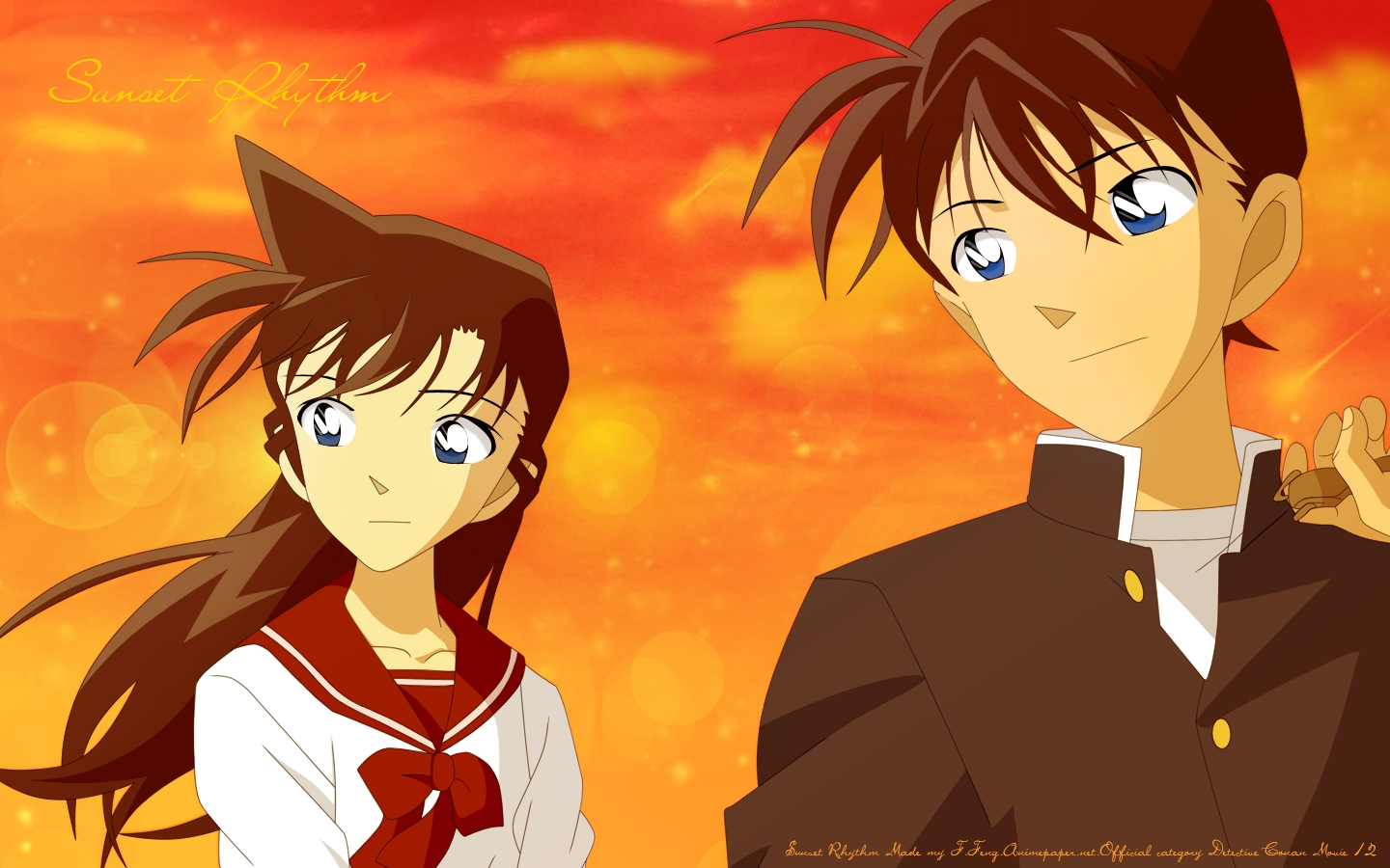 ran-mouri-and-shinichi-kudo