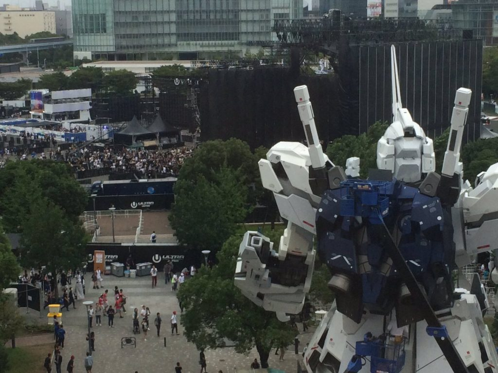 real gundam unicorn