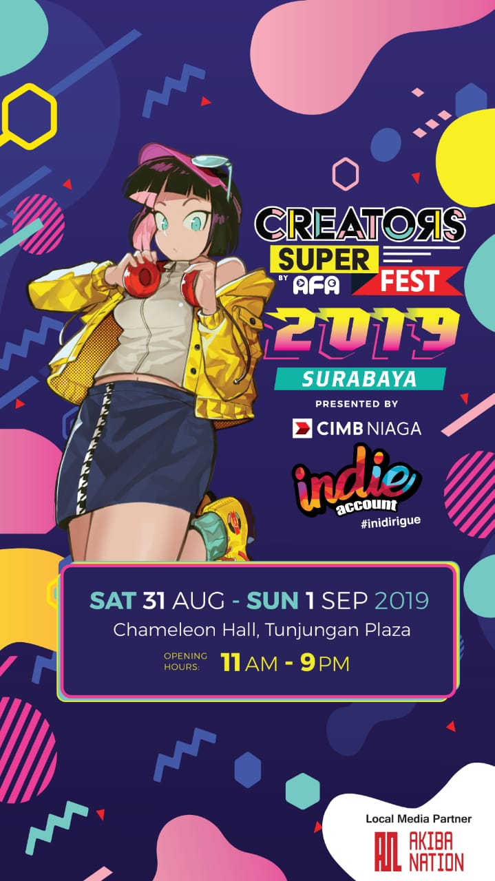 Creators Super Fest 2019